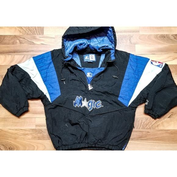 188aaae5521 Vintage Orlando Magic Starter NBA Jacket. AMAZING!  M 5bf5d558de6f62046e60afa5